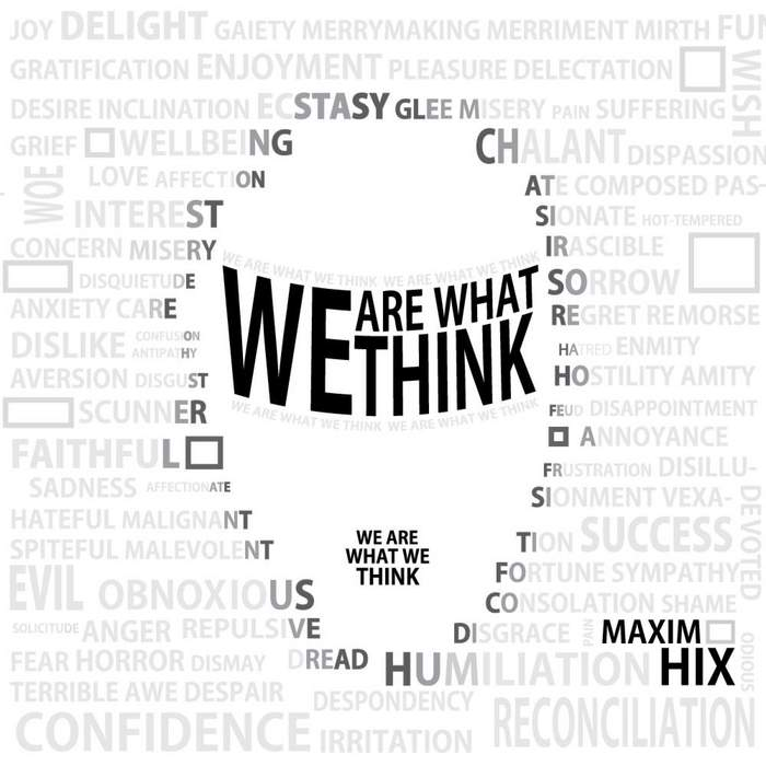 MAXIM HIX - We Are What We Think 2012