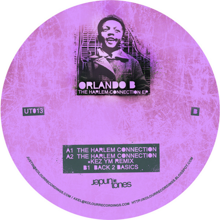 ORLANDO B - The Harlem Connection EP