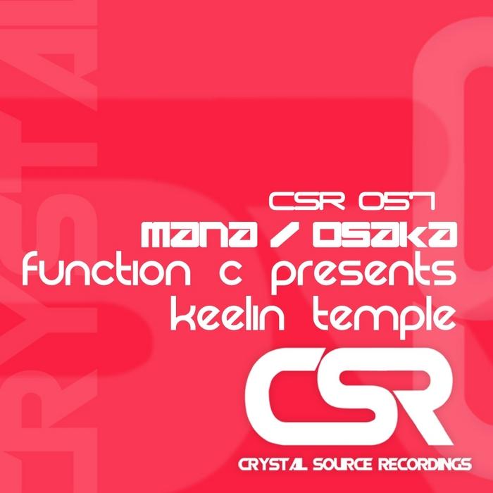 FUNCTION C presents KEELIN TEMPLE - Mana/Osaka