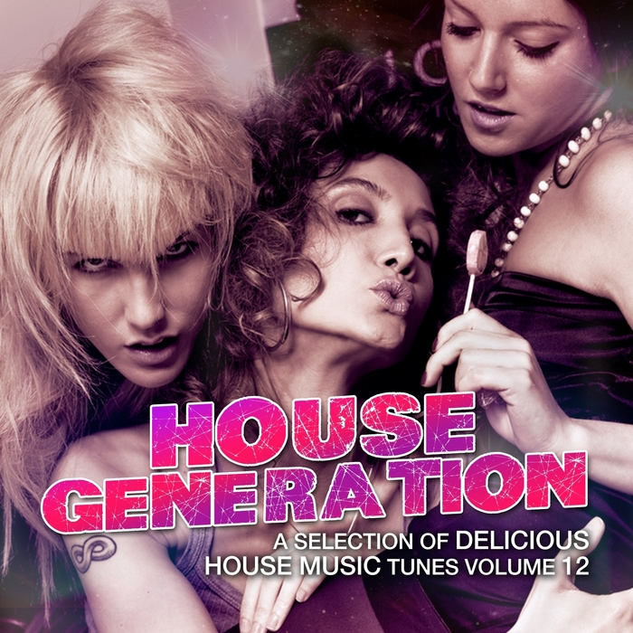 DJ RAY PALMER/VARIOUS - House Generation Vol 12 (A Selection Of Delicious House Music Tunes) (unmixed tracks)