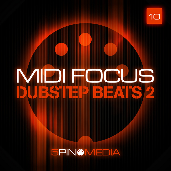 5PIN MEDIA - MIDI Focus: Dubstep Beats Vol 2 (Sample Pack WAV/MIDI)