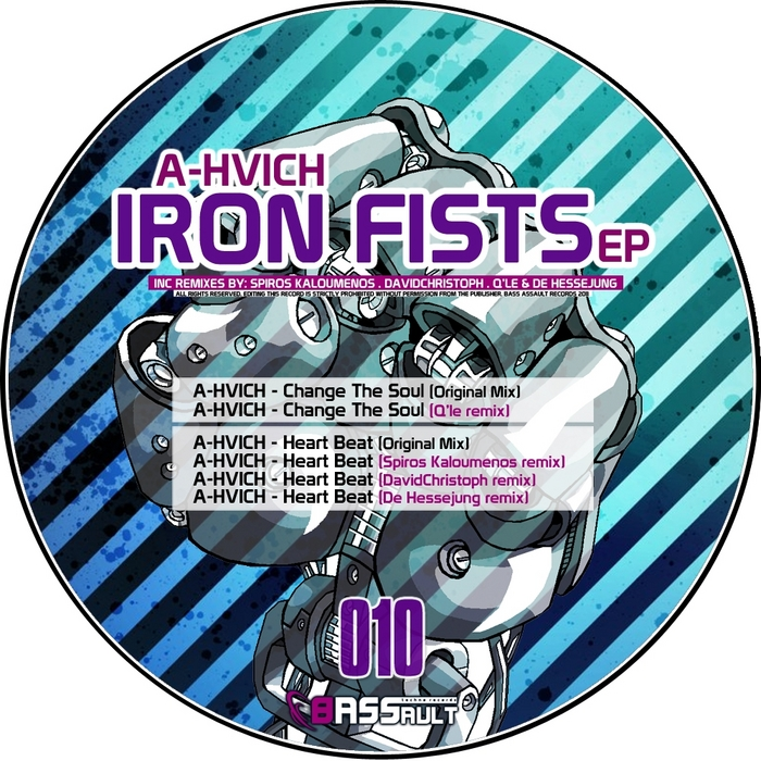 A HVICH - Iron Fists Ep