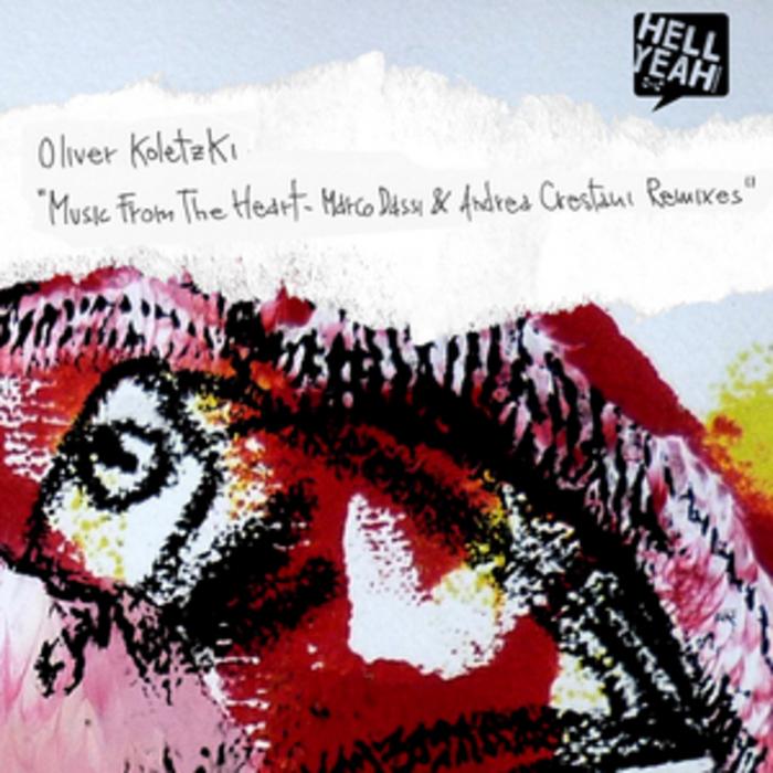 KOLETZKI, Oliver - Music From The Heart (remixes)