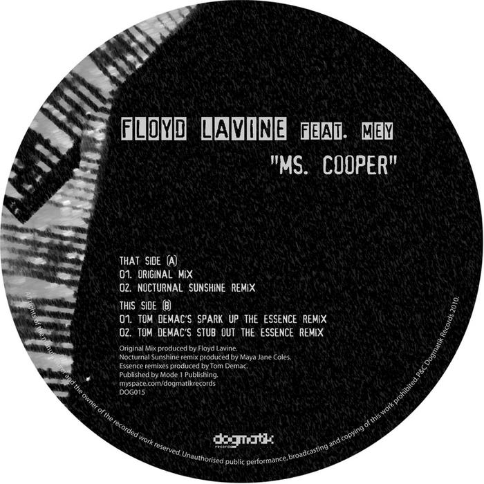 LAVINE, Floyd feat MEY - Ms Cooper
