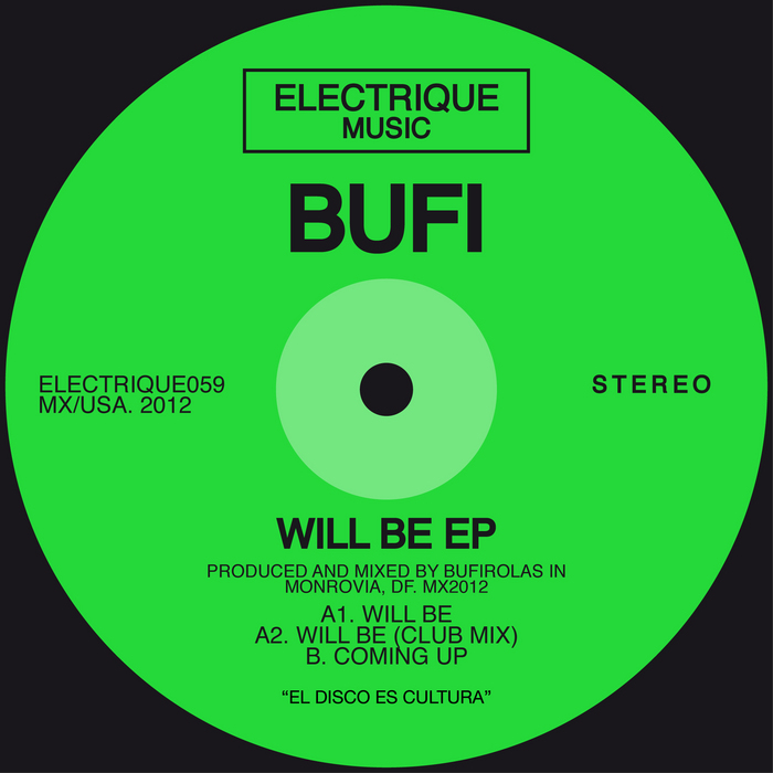 BUFI - Will Be EP