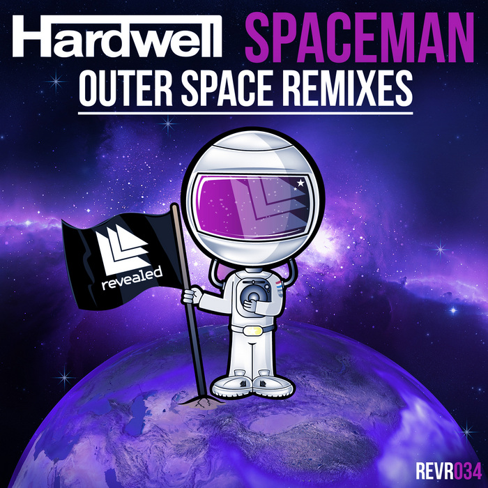 HARDWELL - Spaceman (Outer Space Remixes)