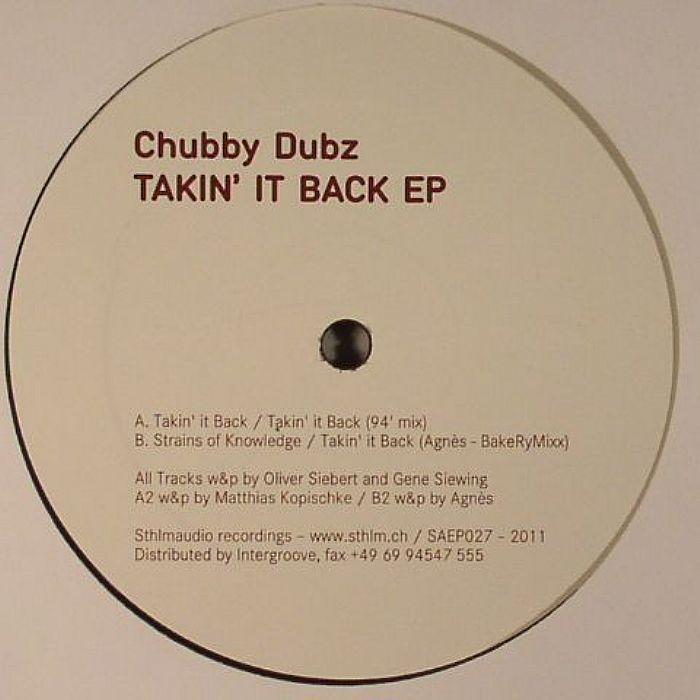 CHUBBY DUBZ - Takin It Back EP
