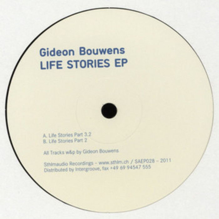 BOUWENS, Gideon - Life Stories EP