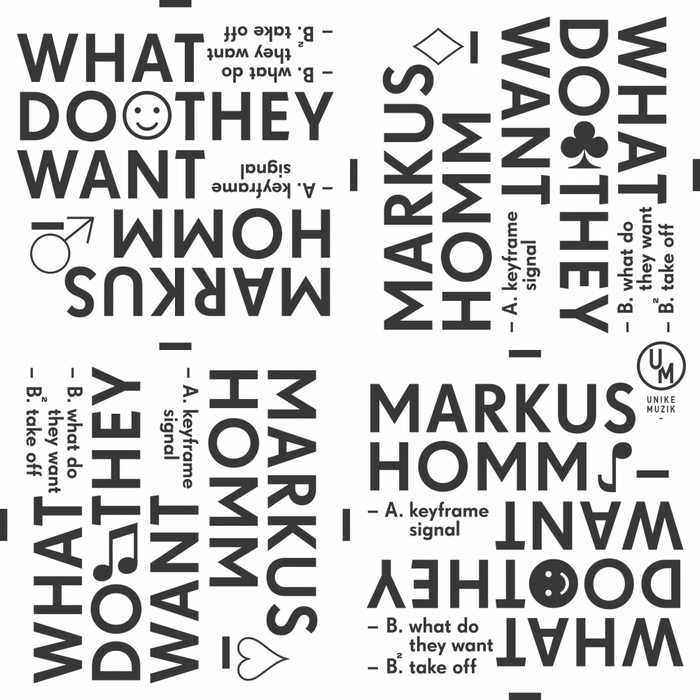HOMM, Markus - What Do They Want