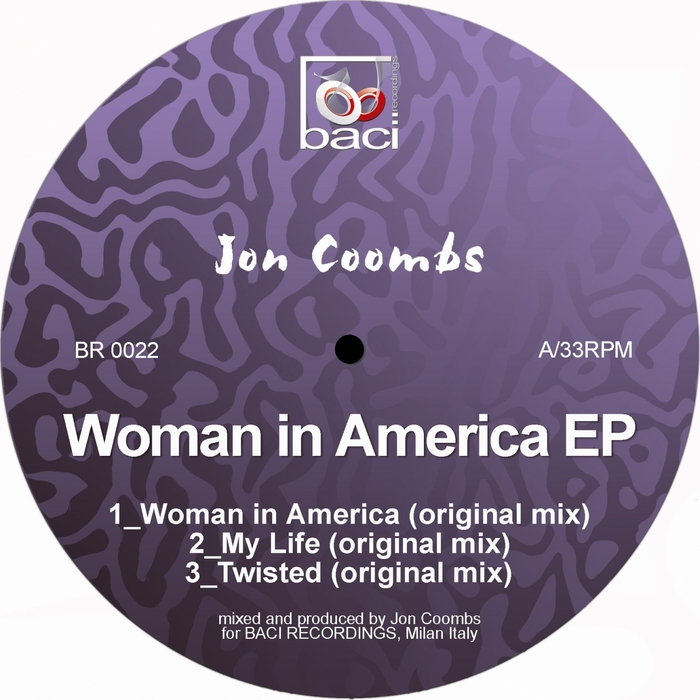COOMBS, Jon - Woman In America EP
