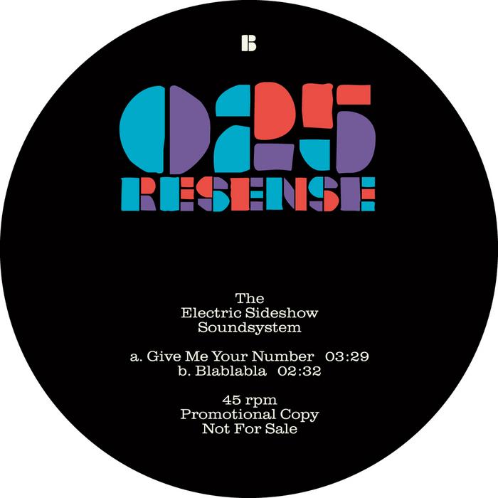 ELECTRIC SIDESHOW SOUNDSYSTEM, The - Resense 025
