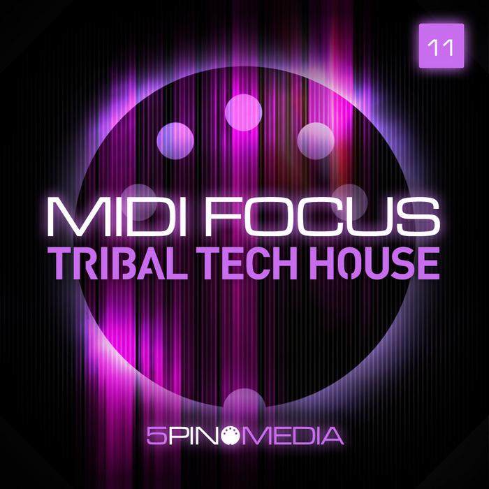 5PIN MEDIA - MIDI Focus: Tribal Tech House (Sample Pack MIDI/NI Massive Presets/Sylenth1 Presets)