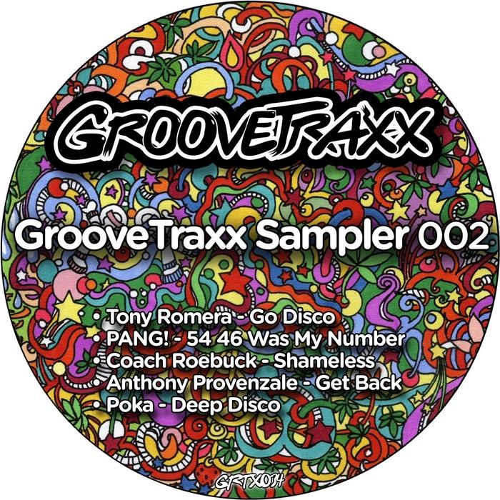 PANG/TONY ROMERA/COACH ROEBUCK/ANTHONY PROVENZALE/POKA - GrooveTraxx Sampler 002
