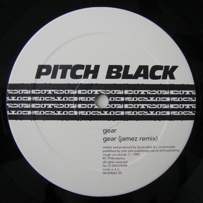 PITCH BLACK - Gear EP
