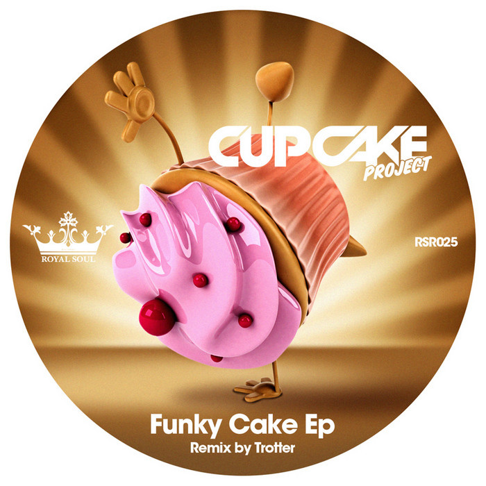 CUPCAKE PROJECT - Funky Cake