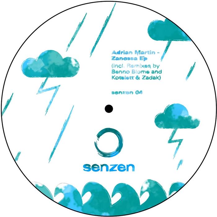 MARTIN, Adrian - Zanossa EP