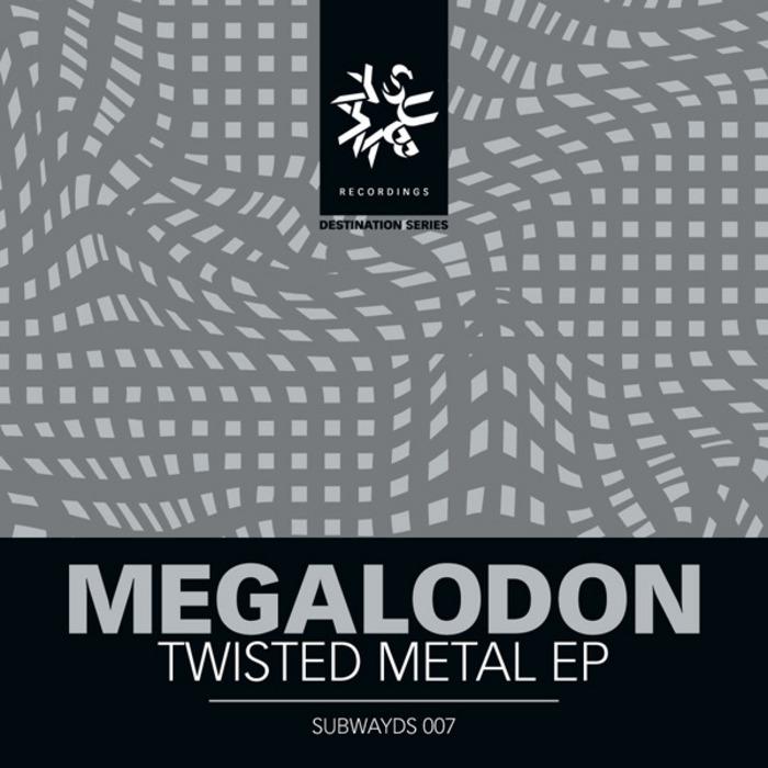 MEGALODON/BADKLAAT - Twisted Metal EP