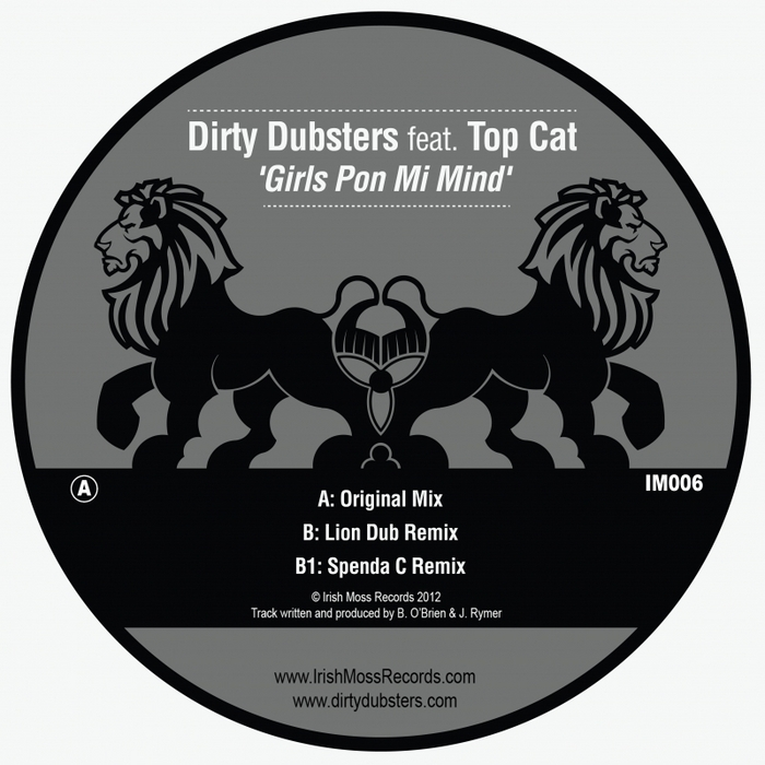 DIRTY DUBSTERS feat TOP CAT - Girls Pon Mi Mind