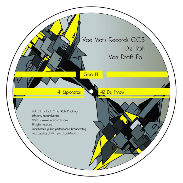 DIE ROH - Van Draft EP