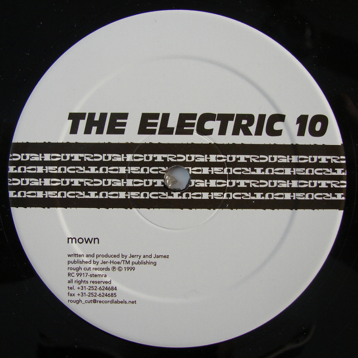 ELECTRIC 10, The - Mown EP