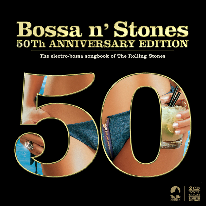 VARIOUS - Bossa 'N' Stones: 50th Anniversary Edition