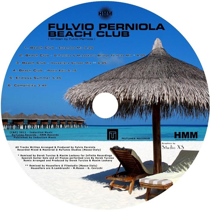 PERNIOLA, Fulvio - Beach Club EP