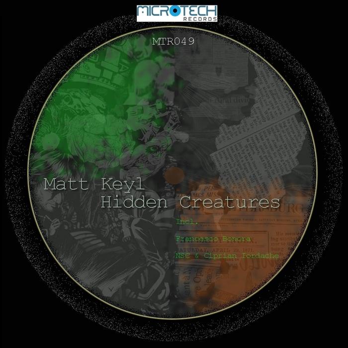 MATT KEYL - Hidden Creatures