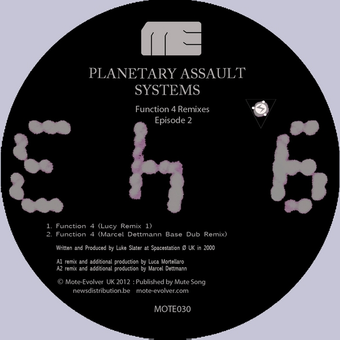 PLANETARY ASSAULT SYSTEMS - Function 4 Remixes Episode 2