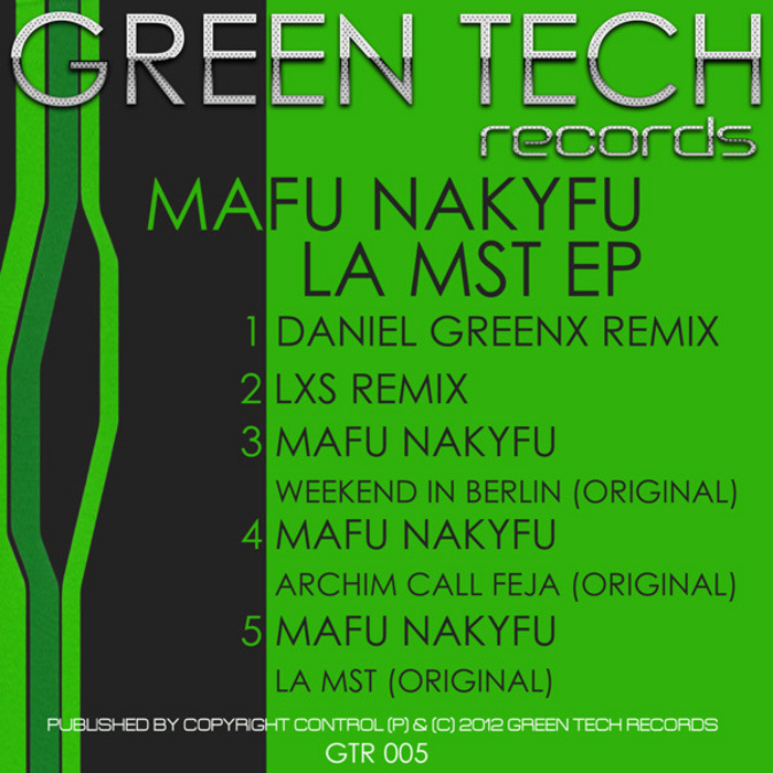 MAFU NAKYFU - La Mst EP
