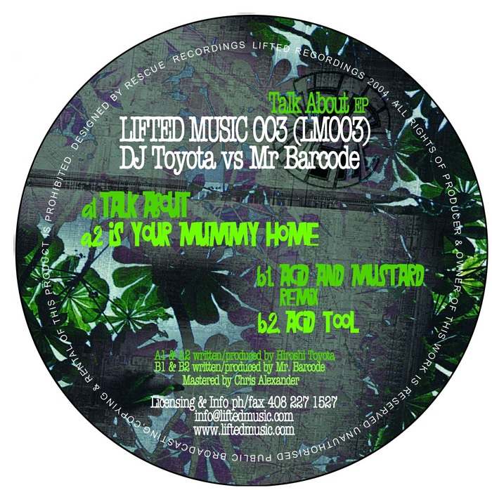 DJ TOYOTA vs MR BARCODE - Talk About EP