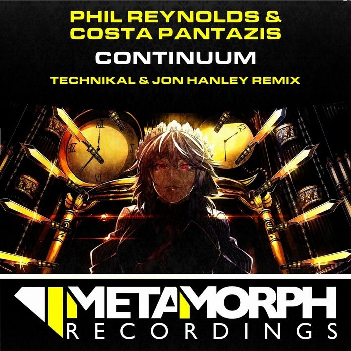 REYNOLDS, Phil/COSTA PANTAZIS - Continuum