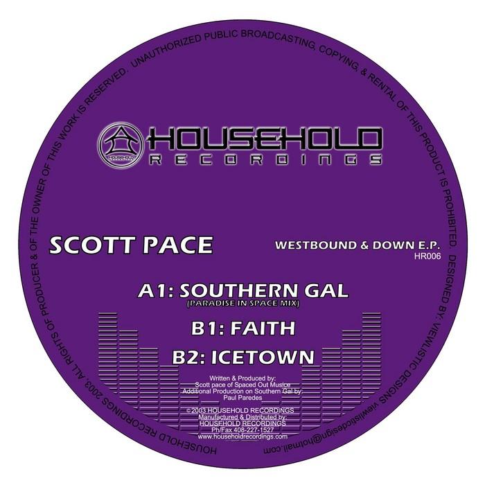 PACE, Scott/PAUL PAREDES - Westbound & Down EP