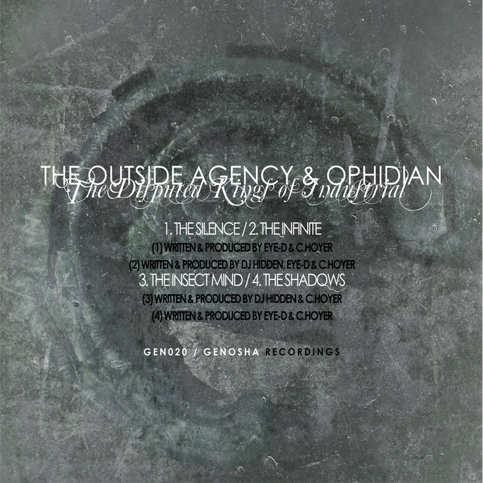 OUTSIDE AGENCY, The/OPHIDIAN - The Disputed Kings Of Industrial