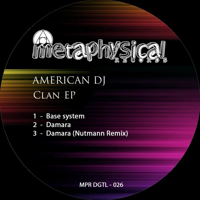 AMERICAN DJ - Clan EP