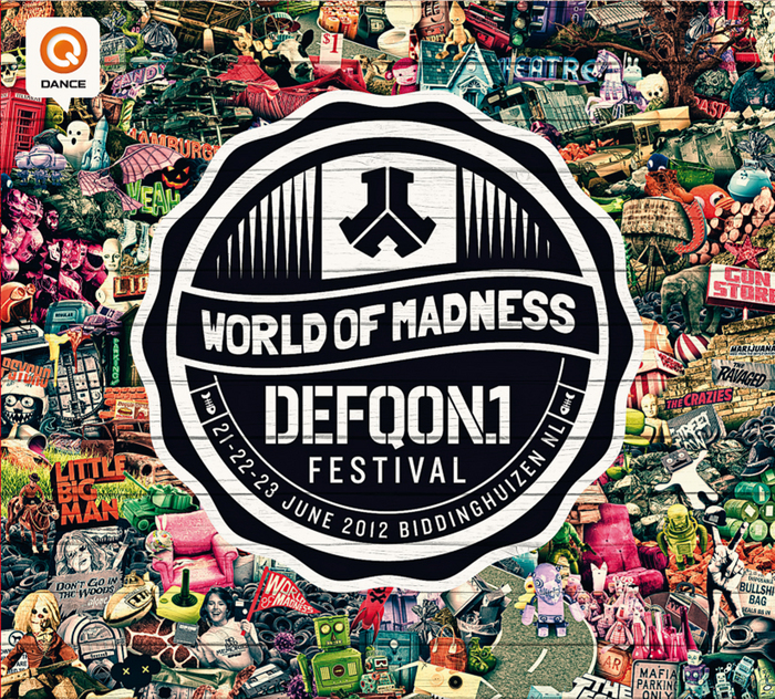 VARIOUS - Defqon 1: The World Of Madness