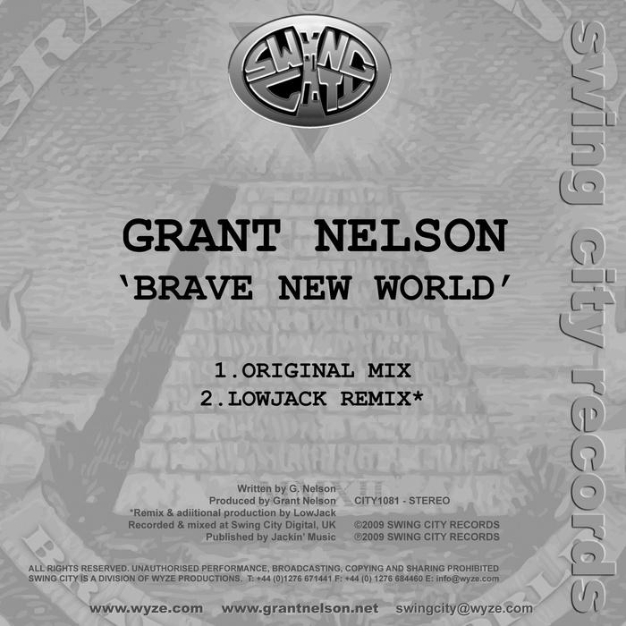 GRANT NELSON - Brave New World