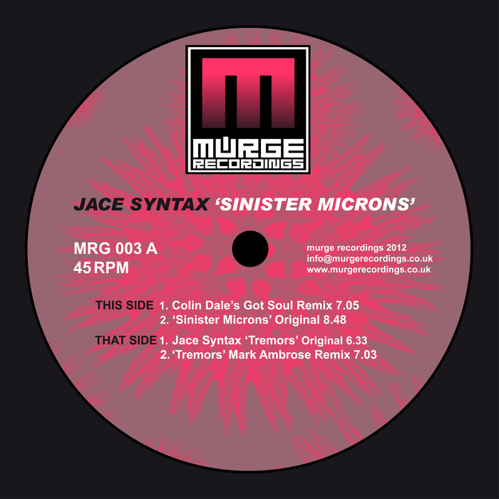 JACE SYNTAX - Sinister Micron's (remixes)