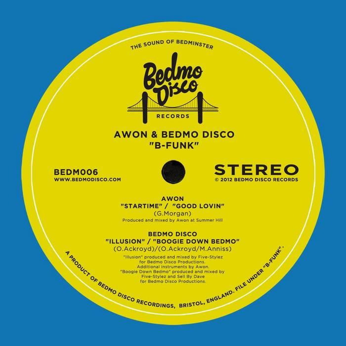 AWON/BEDMO DISCO - B Funk