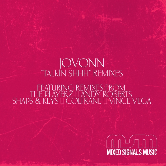 JOVONN - Talkin Shhh