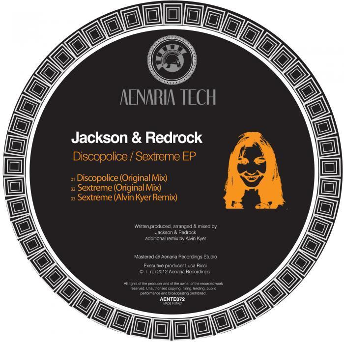 JACKSON/REDROCK - Discopolice EP