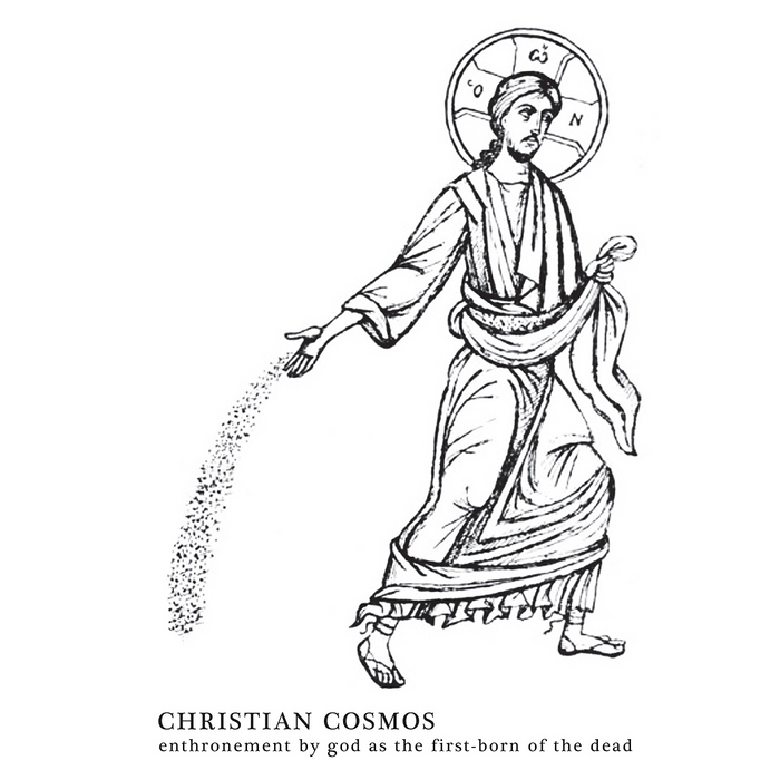 CHRISTIAN COSMOS - Enthronement By God As The First Born Of The Dead