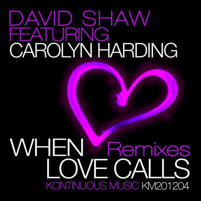 SHAW, David/CAROLYN HARDING - When Love Calls (remixes)