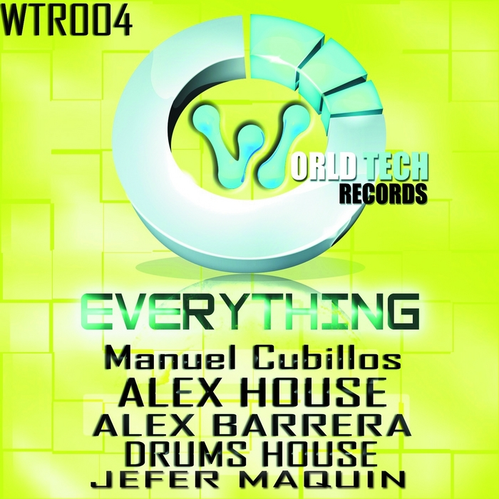 BARRERA, Alex/ALEX HOUSE/DRUMS HOUSE/JEFER MAQUIN - Everything