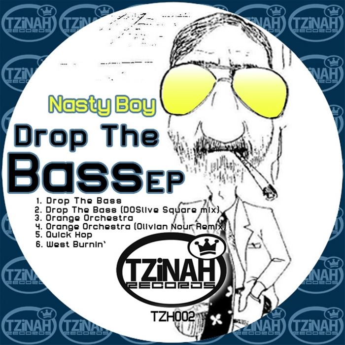 NASTY BOY - Drop The Bass EP