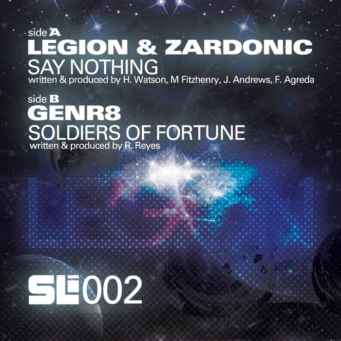 LEGION/ZARDONIC/GENR8 - Say Nothing