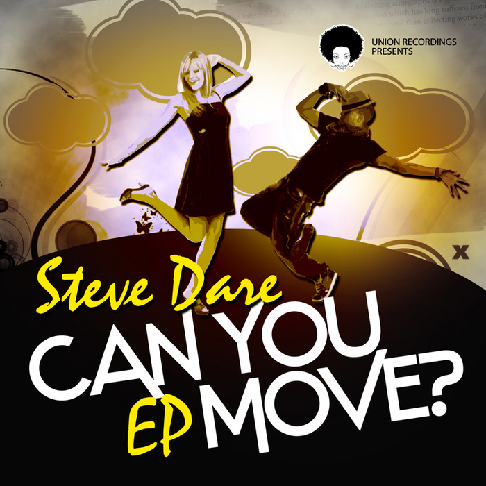 DARE, Steve - Can You Move? EP