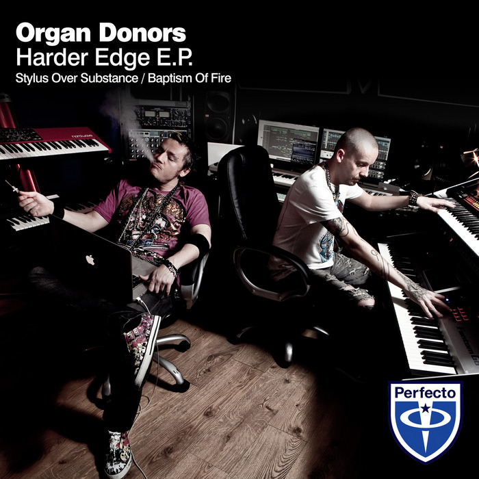 ORGAN DONORS - Harder Edge EP