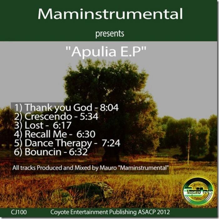 MAMINSTRUMENAL - Apulia EP