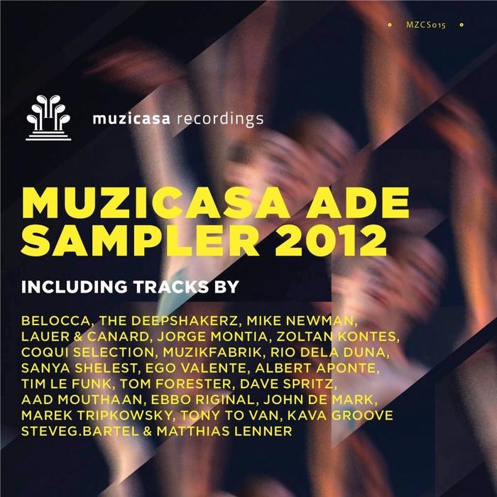 VARIOUS - Muzicasa ADE 2012 Sampler
