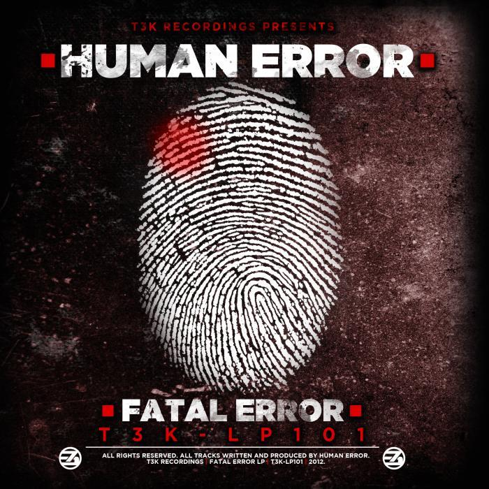 HUMAN ERROR - Fatal Error LP